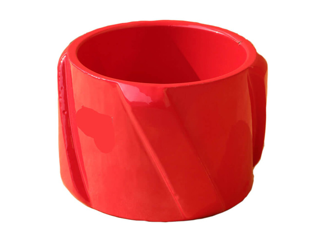 spiral vane solid rigid centralizer