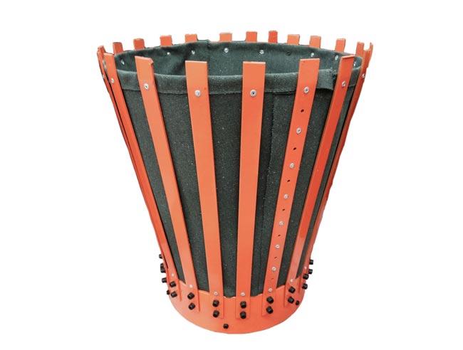 Canvas Cement Baskets