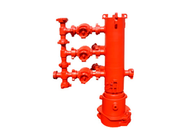 Cementing Head can be divided into Single-Plug Cementing Head and Double-Plug
