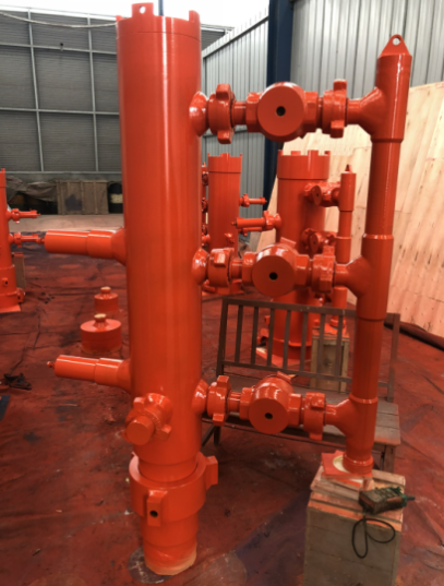 Double Plugs Cementing Head